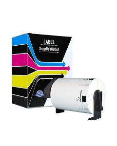 CBDK1240 | Brother DK1240 Compatible Large White Paper Labels