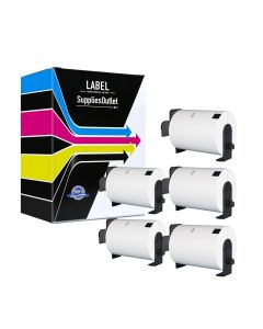 CBDK1241VB | Brother DK1241 Compatible Paper Labels 5-Pack