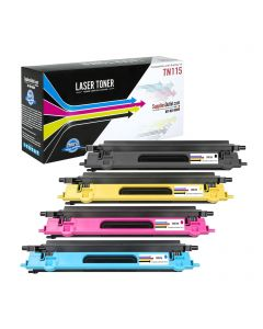 CBTN115VB | Brother TN115 Compatible Toner Cartridge Color Set