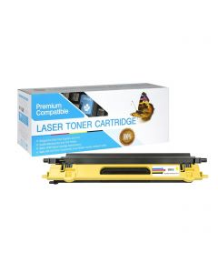 CBTN115Y | Brother TN115Y Compatible Yellow Toner Cartridge