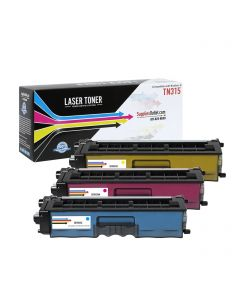 CBTN315-3P | Brother TN315 Compatible Toner Cartridge 3-Pack (1 each C/M/Y) ..