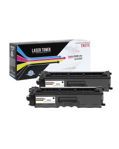CBTN315K-2P | Brother TN315BK Compatible Toner Cartridge 2-Pack ..