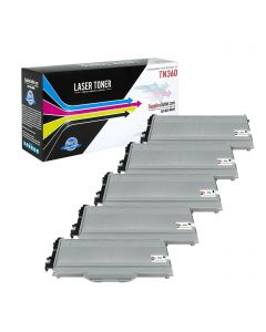 SOBTN360JVB | Brother TN360 Compatible Jumbo Toner Cartridge 5-Pack