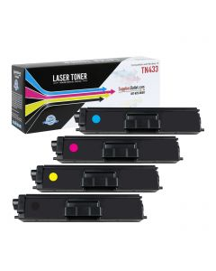 CBTN433VB | Brother TN433 Compatible Toner Cartridge Color Set