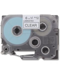 CBTZ111 | Brother TZe111 Compatible Black On Clear P-Touch Label Tape