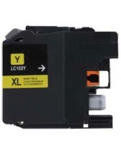 CLC103Y | Brother LC103Y Compatible Yellow Ink Cartridge