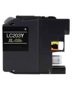 CLC203Y | Brother LC203Y Compatible Yellow Ink Cartridge