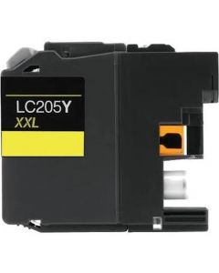 CLC205Y | Brother LC205Y Compatible Yellow Ink Cartridge