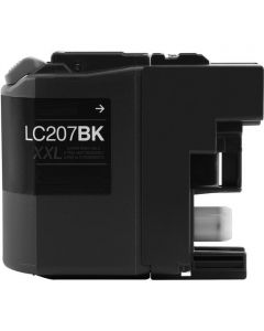 CLC207BK | Brother LC207BK Compatible Black Ink Cartridge