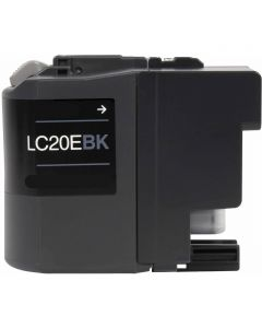CLC20EBK | Brother LC20EBK Compatible Black Ink Cartridge