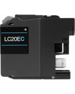 CLC20EC | Brother LC20EC Compatible Cyan Ink Cartridge