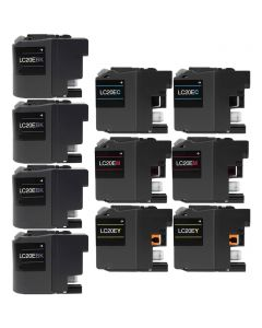 CLC20EVB | Brother LC20E Compatible Ink Cartridge 10-Pack