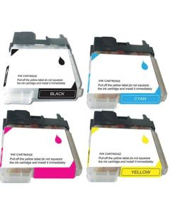 CLC65VB-2 | Brother LC65 Compatible Ink Cartridge 4-Pack