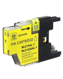 CLC75Y | Brother LC75Y Compatible Yellow Ink Cartridge