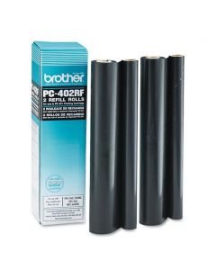 PC402RF | Genuine Brother PC402RF Thermal Transfer Refill Rolls 2-pack - OEM