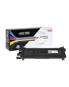 SOBTN660J-1P | Compatible Black Jumbo Toner Cartridge for Brother TN660