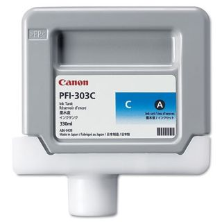 Canon 2959B001AA (PFI-303C) OEM Dye Cyan Ink Cartridge