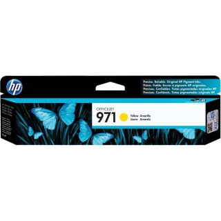HP CN624AM (HP 971) OEM Yellow Ink Cartridge