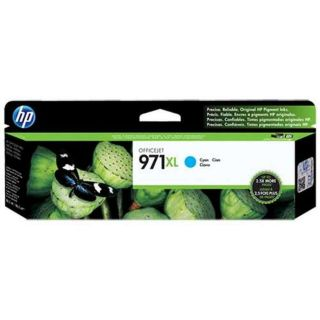 HP CN626AM (HP 971XL) OEM High Yield Cyan Ink Cartridge