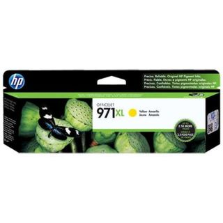 HP CN628AM (HP 971XL) OEM High Yield Yellow Ink Cartridge