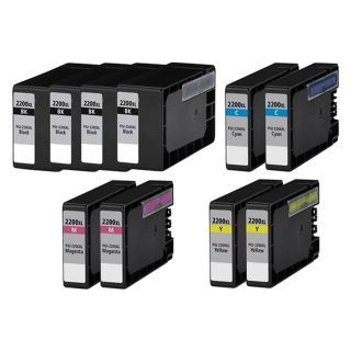 CPGI2200XLVB | Canon PGI-2200 Compatible Ink Cartridge 10-Pack Value Bundle