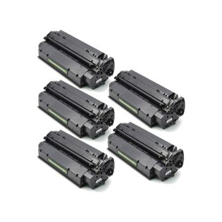 HP C7115X (HP 15X) Hi-Yield Set of Five Remanufactured Cartridges Value Bundle ($17.9/ea, Save $10)